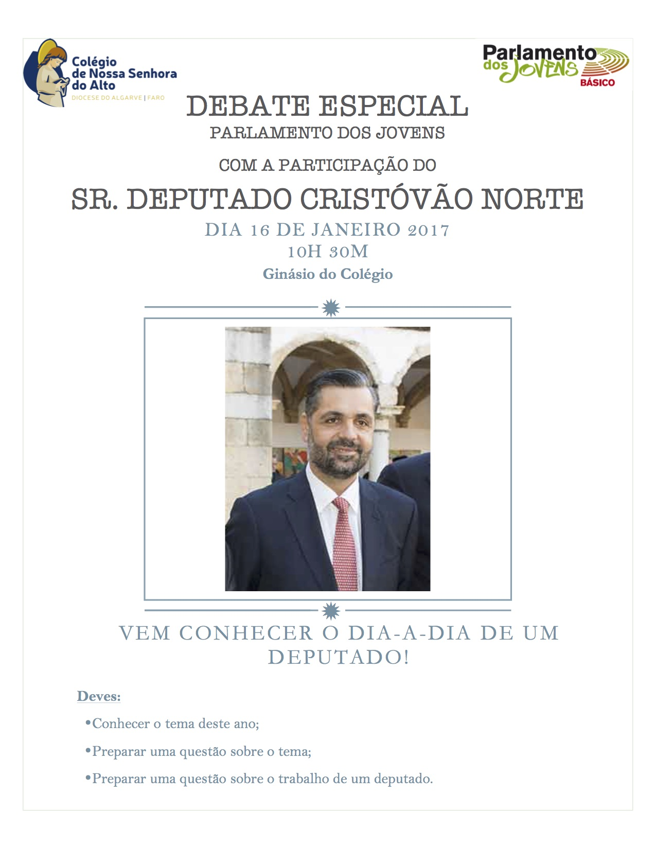 Cartaz Debate